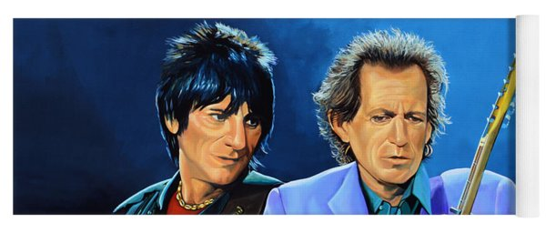 Ron Wood And Keith Richards Yoga Mat