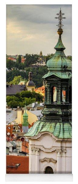 Rooftops Of Prague 1 Yoga Mat