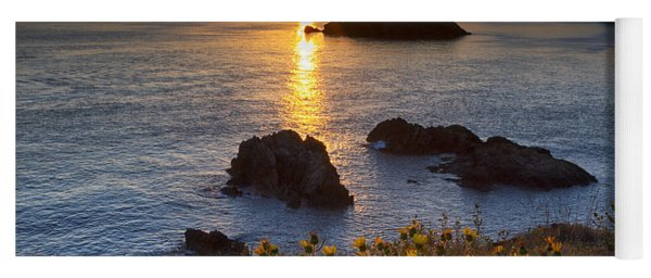 Rosario Head Sunset Yoga Mat
