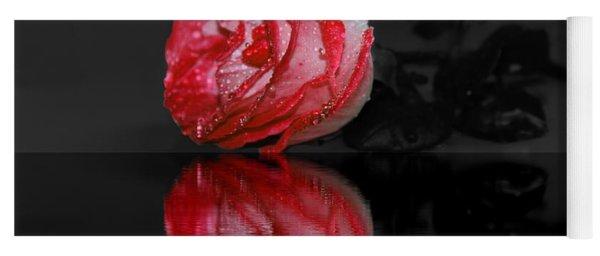 Rose In Water Yoga Mat