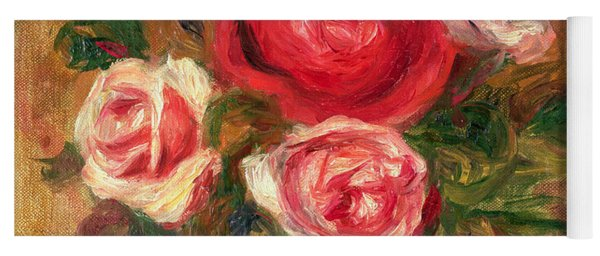 Roses In A Pot Yoga Mat