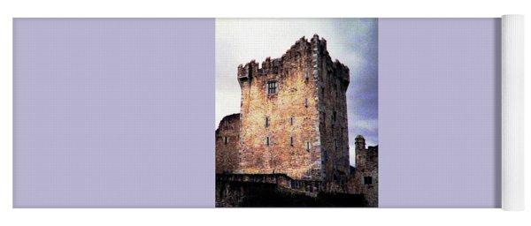 Ross Castle Kilarney Ireland Yoga Mat
