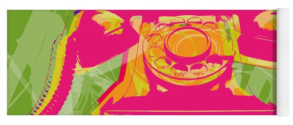 Rotary Phone Yoga Mat