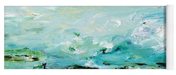 Rough Waters Yoga Mat