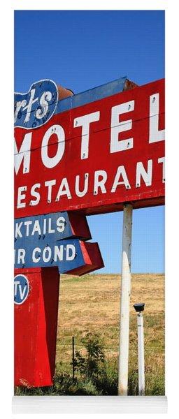 Route 66 - Art's Motel Yoga Mat