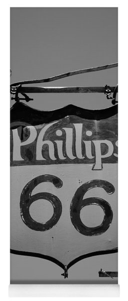 Route 66 - Phillips 66 Petroleum Yoga Mat