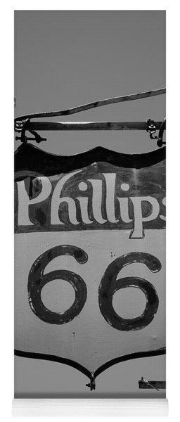 Route 66 - Phillips 66 Petroleum Yoga Mat