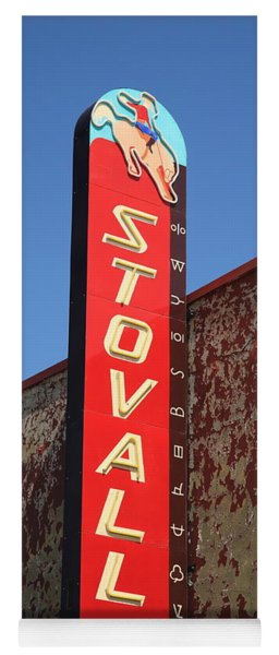 Route 66 - Stovall Theater Yoga Mat