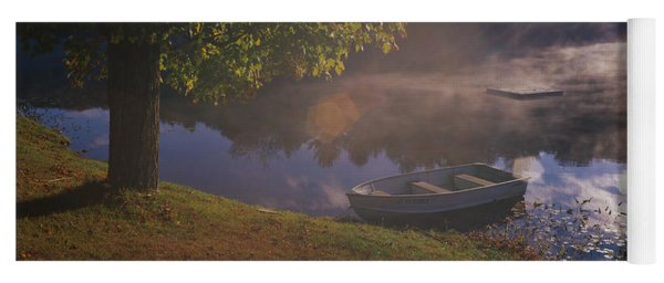 Rowboat Lake Nh Yoga Mat