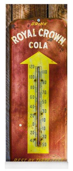 Royal Crown Barn Thermometer Yoga Mat