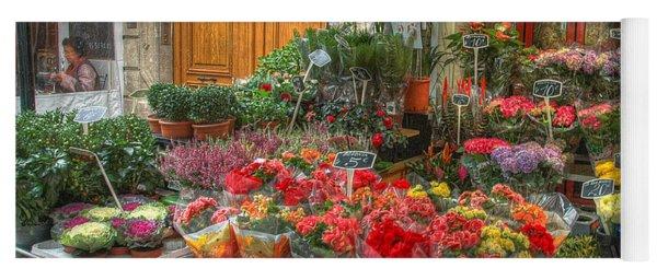 Rue Cler Flower Shop Yoga Mat