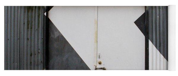 Rusty Door- Photography Yoga Mat
