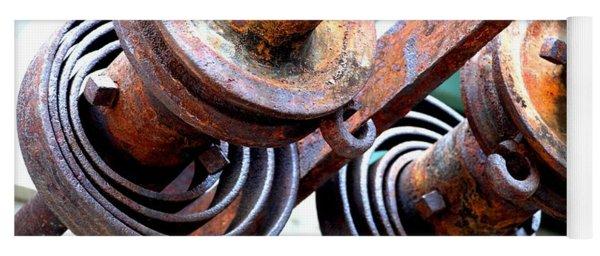 Rusty Relics Yoga Mat
