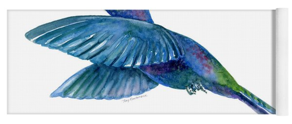 Sabrewing Hummingbird Yoga Mat
