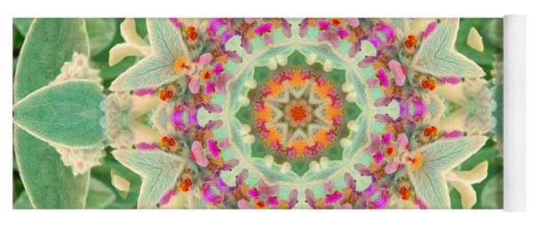 Sage Flower Mandala Yoga Mat