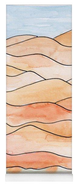 Sahara Sand Dunes 2 Yoga Mat