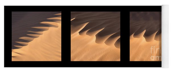 Sahara Triptych Yoga Mat