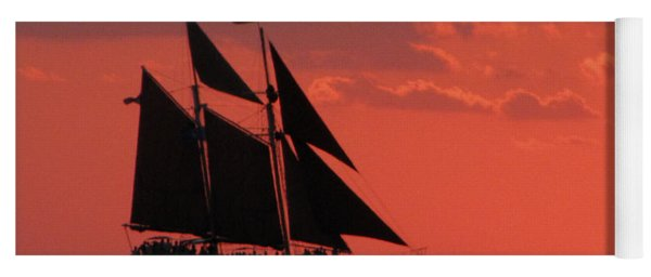 Key West Sunset Sail 5 Yoga Mat