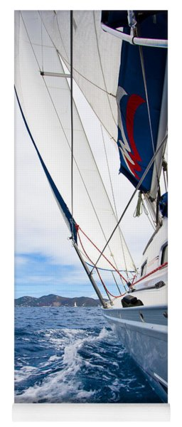 Sailing Bvi Yoga Mat