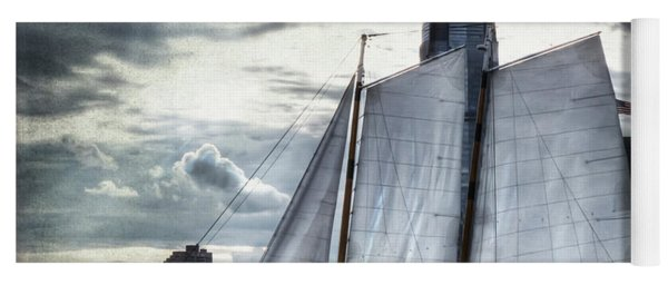 Sailing On The Hudson Yoga Mat