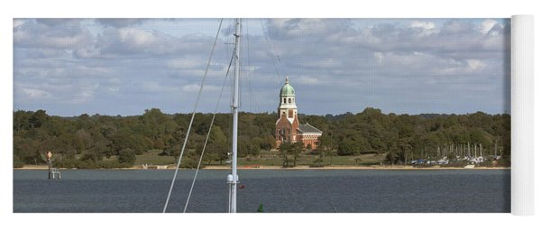 Sailing Past Netley Yoga Mat