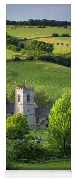 Yoga Mat featuring the photograph Saint Andrews - Cotswolds by Brian Jannsen