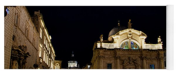 Saint Blaise Church - Dubrovnik Yoga Mat