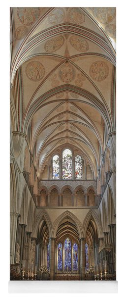 Salisbury Cathedral Quire And High Altar Yoga Mat