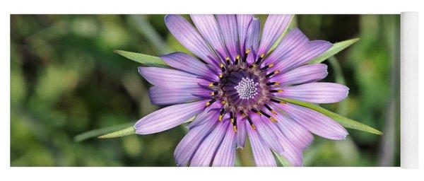 Salsify Flower Yoga Mat