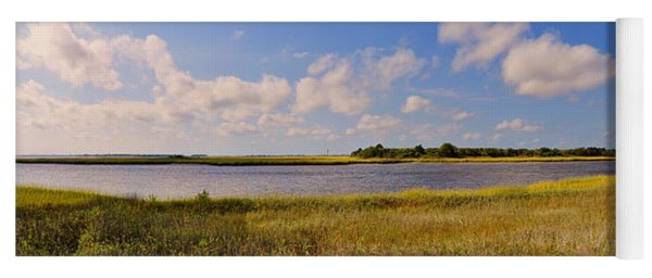 Salt Marsh Morning - Southport Yoga Mat
