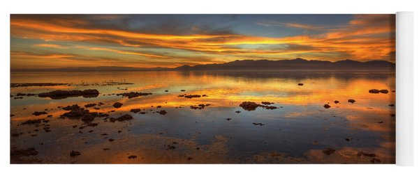 Salton Sea Color Yoga Mat