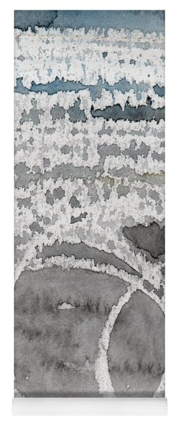 Saltwater- Abstract Painting Yoga Mat