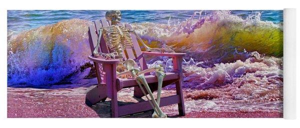 A-loon On The Beach  Yoga Mat