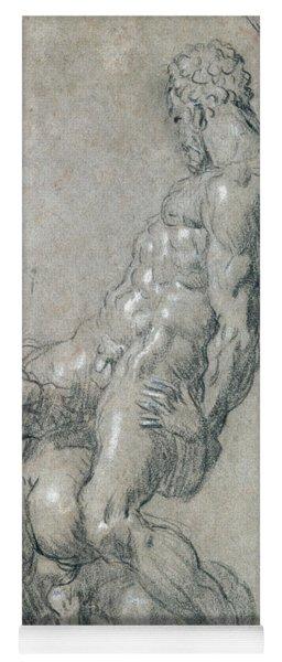 Samson Killing The Philistines Yoga Mat