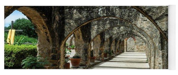 San Antonio Mission Arches Yoga Mat