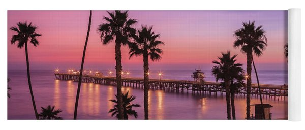 San Clemente Sunset Meditation Yoga Mat