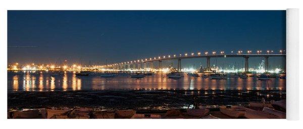 San Diego Bridge  Yoga Mat