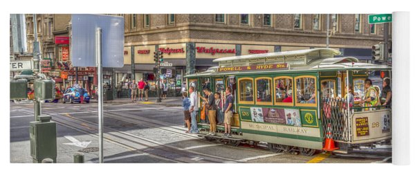 San Francisco Cable Car Yoga Mat