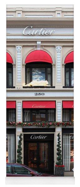 San Francisco Cartier Storefront - 5d20567 Yoga Mat