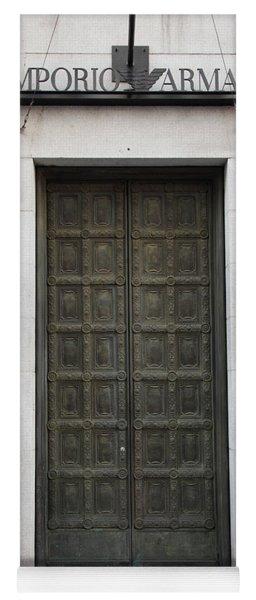 San Francisco Emporio Armani Store Doors - 5d20538 Yoga Mat