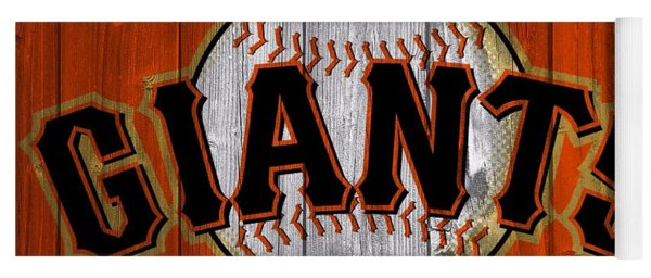 San Francisco Giants Barn Door Yoga Mat