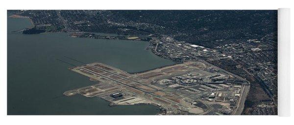 San Francisco International Airport Yoga Mat