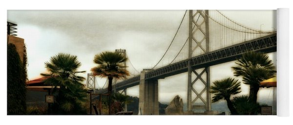 San Francisco Oakland Bay Bridge Yoga Mat