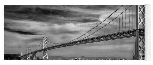 San Francisco - Oakland Bay Bridge Yoga Mat
