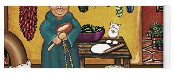 San Pascuals Kitchen Yoga Mat