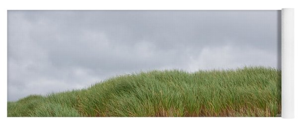 Sand Dunes And Grass Yoga Mat