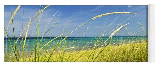 Sand Dunes At Beach Yoga Mat