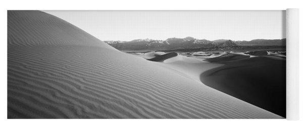 Sand Dunes At Sunrise, Stovepipe Wells Yoga Mat