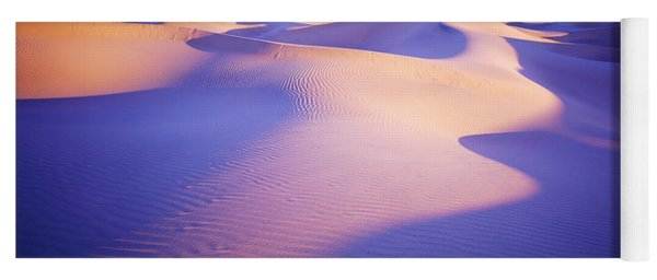 Sand Dunes At Sunset, Stovepipe Wells Yoga Mat