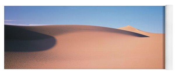 Sand Dunes Death Valley Nv Usa Yoga Mat